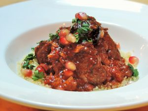 Lamb-and-prune-tagine-pomegranate-couscous-and-coriander